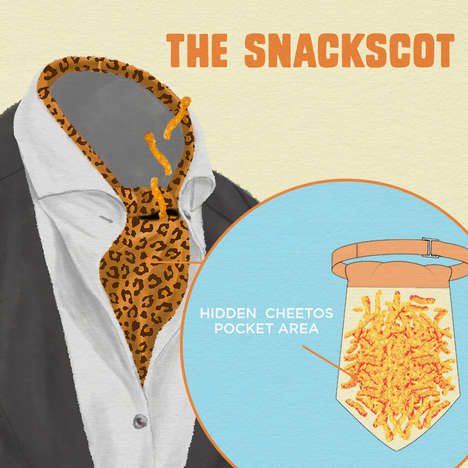"Snack-Storing Accessories - Cheetos is Launching a Line of Branded Accessories Called ""Snackwear"""