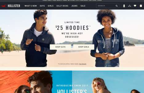 Teen Fashion Loyalty Programs - Hollister's Club Cali Program Offers Gift Cards for Points