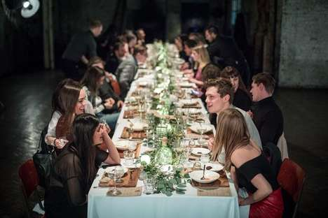 Secret Dining Events - Patrón Secret Dining Created a Special Cocktail-Paired Menu in London