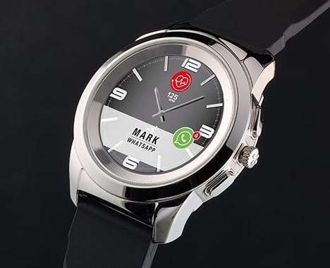 Dual-Use Analog Smartwatches