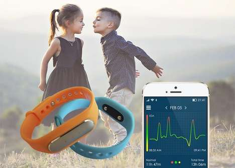 Emotion-Tracking Child Wearables - The 'VIVOMARK' Wearable Can Track Child Emotions
