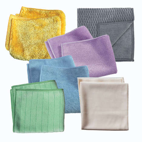 Water-Only Cleaning Cloths - e-cloth's 'Safe Home Baby Care Set' Cleans Without Harsh Chemicals