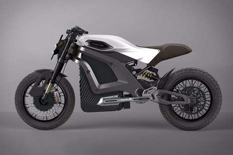 3D-Printed Electric Motorcycles - The Italian Volt Personal Motorcycles are Efficient and Stylish
