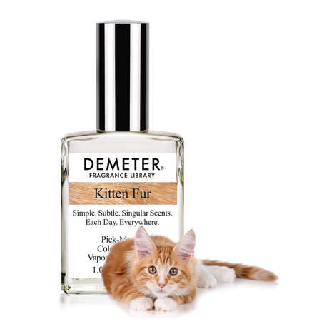 Pet-Scented Perfumes - The Demeter Fragrance Kitten Fur is Ideal for Feline Fans