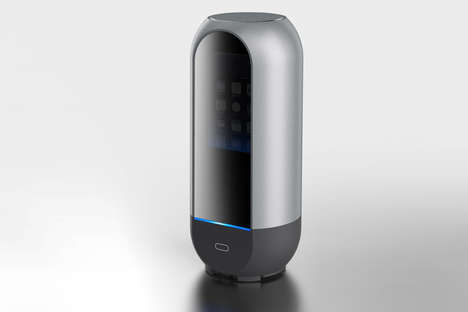 UV Light Phone Cleaners - This Conceptual Phone Sterilizer Can Clean a Smartphone Effectively
