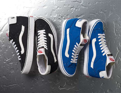 Weatherproof High-Tops - The Vans x Schoeller Waterproof Shoes are Ready for Any Season
