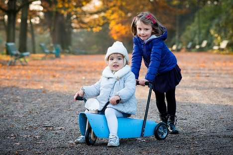 Customizable Kid Riding Toys - The 'Chou Du Volant' Children's Toy Can be Ridden, Pushed and More