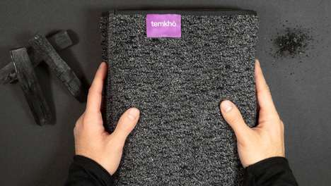 Charcoal-Infused Towels - Temkho's New Charcoal Towel is Able to Dry Faster Than Its Counterparts