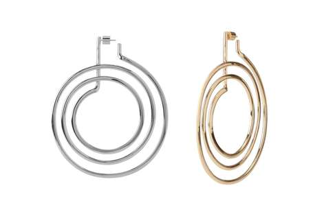Stove Coil-Inspired Earrings - Jennifer Fisher and Off-White's Earrings Consider Global Warming