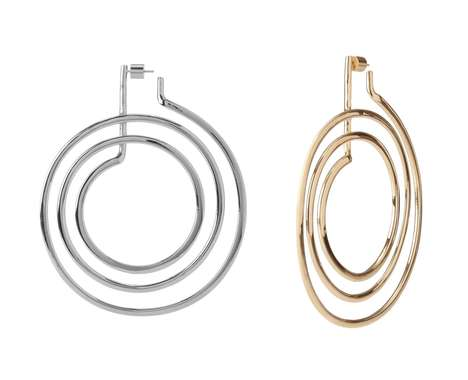 Stove Coil-Inspired Earrings