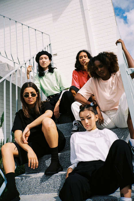 Retro Girl Gang Editorials - Highs and Lows Recently Debuted Its Spring/Summer Campaign