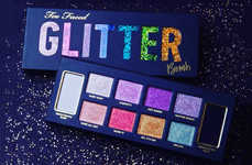 Pigmented Glitter Eye Shadows