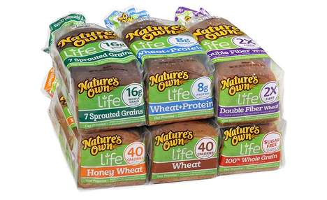 Corn Syrup-Free Breads - The Nature's Own Life Breads Offer a Healthy Lineup of Options