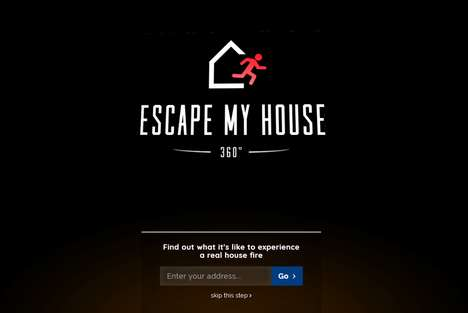 Fire Safety Simulators - 'Escape My House' Stresses the Importance of Having a Fire Escape Plan