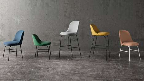Sharp Dorsal Furnishings - Jaime Hayon's Aleta Collection is Intentionally Sharklike
