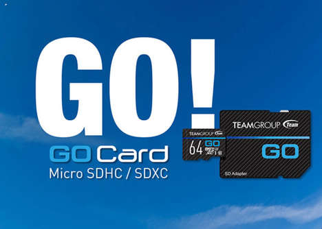 Action Cam Storage Cards - The Team Group 'Go Cards' MicroSD Memory Cards are Speedy