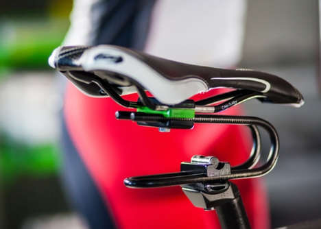 Bike Seat Shock Absorbers - The 'Rinsten Spring' Bicycle Shock Absorber Softens Impact on the Rider