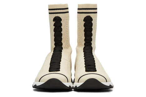 High-Top Sock Sneakers - These New Fendi Sneakers Have an Unconventionally Modern Design