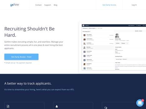 Recruitment Management Platforms - 'GoHire' Simplifies Recruitment to Hire Staff Seamlessly