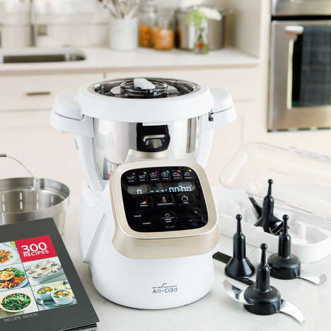 Multifunctional Cooking Appliances - The All-Clad Prep & Cook Food Cooking Appliance Does it All