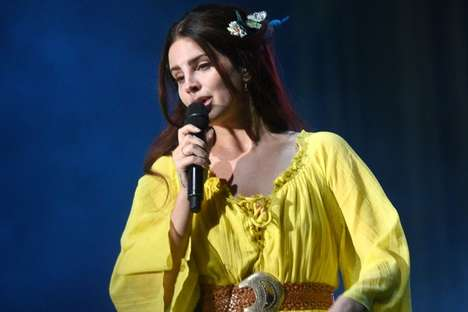 Dreamy Singer-Inspired Social Filters - The Lana Del Rey Filter on Snapchat Features a Flower Crown