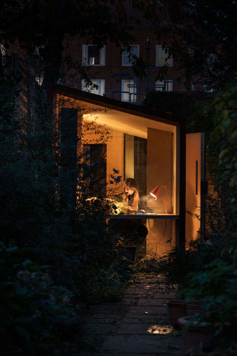 Portable Garden Offices - Nic Howett's At-Home Workspace Combines Aesthetics and Function