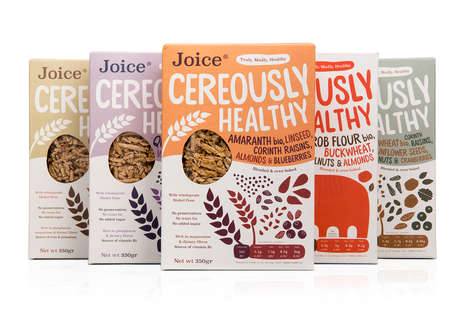 Heritage Grain Cereals - Joice's Healthy Cereals Boast Ingredients Like Quinoa and Amaranth