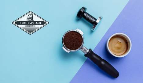 At-Home Espresso Subscriptions - This Service Helps to Perfect the Art of Making Espresso at Home