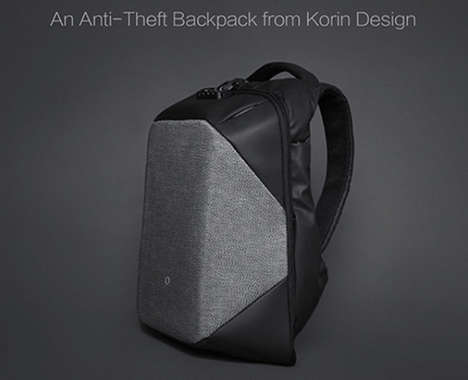 Stylish Anti-Theft Knapsacks