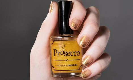 Prosecco-Flavored Nail Polish - 'Prosecco Polish' Includes Real Prosecco as an Ingredient
