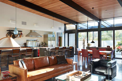 Biologically Blending Bungalows - Klopf Architecture Designed the Sacramento Modern Residence