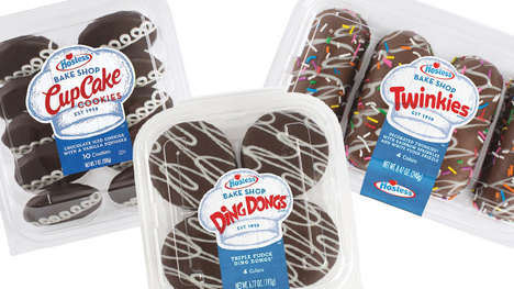 Premium Snack Cake Confections - The Hostess Bake Shop Lineup Reworks Iconic Treats
