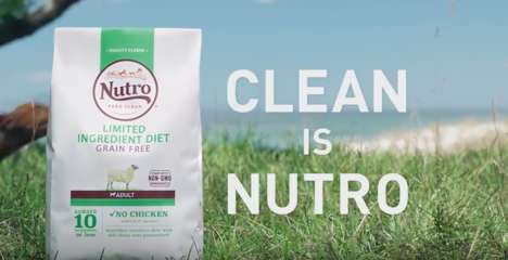 Clean Dog Food Campaigns - Nutro's 'This is Clean' Celebrates a Simple Philosophy on Health and Food