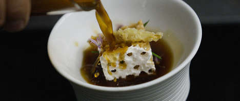 3D-Printed Croutons - Melisse Serves Its Onion Soup with an Intricate, Richly Textured Crouton