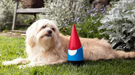 Internet-Connected Garden Decorations - The Google Gnome is a Faux Smart Device for the Backyard