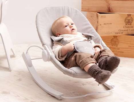 Ergonomic Infant Entertainment Seats - The Bloom Coco Go Baby Lounger Features a Three-in-One Design