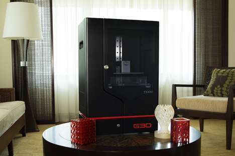 Wireless Self-Leveling Printers - The G3D T-1000 3D Printer Systems Ensure Even Printed Projects