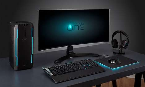 Portable Liquid-Cooled PC Consoles - The Corsair One Pro Compact Gaming PC Can Go with You Anywhere
