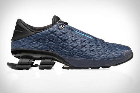 Collaboration Suspension Sneakers - The Adidas x Porsche Design Bounce S4 Lux Sports Shoe is Stylish