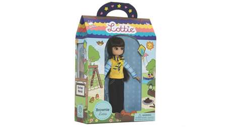 Girl Scout Dolls - Lottie Doll is Introducing an Official Girl Scouts Brownie Doll