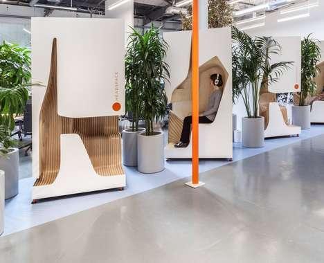 Office Meditation Booths