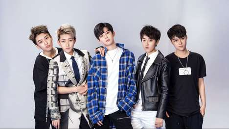 Chinese Boy Band FFC Acrush is Made Up of Five Female Members