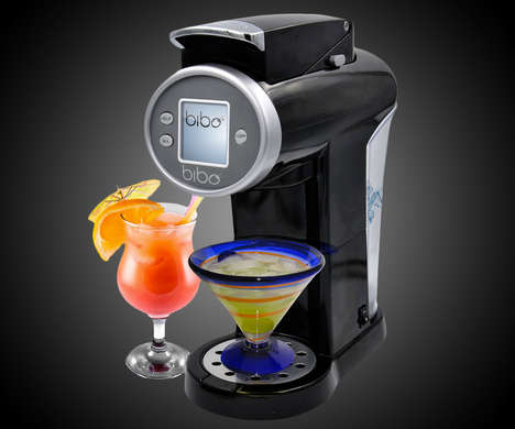 Automatic Cocktail Appliances - The Bibo Barmaid Can Make Cocktails in a Matter of Seconds