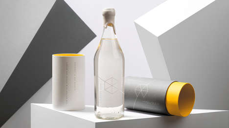 Tech Brand Vodka Gifts - The Google Campus Warsaw Offers Complimentary Vodka for Visitors