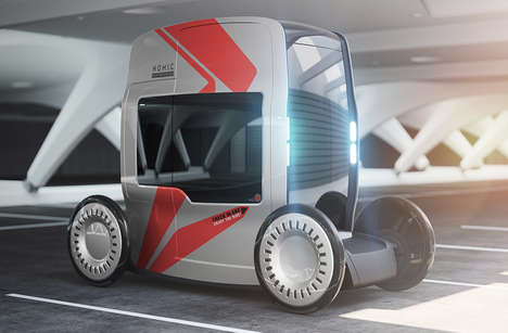 Top 40 Transportation Concepts in April - From Upcycled Delivery Bikes to Eco Bank Trucks