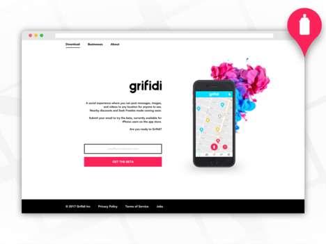 Social AR Geolocation Apps - The 'Grifidi' Social Experience App Creates Location-Based Socializing