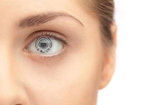 Bio-Sensing Contact Lens - Contacts with Biosensors Could Soon Help Detect Health Issues in People