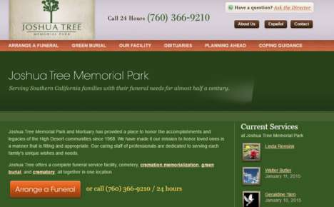 Green Burial Services - The Joshua Tree Memorial Park Offers Eco-Friendly Burial Options