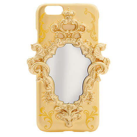 Ornately Mirrored Phone Cases - This Magic Mirror Phone Case Reminds of Beauty and the Beast