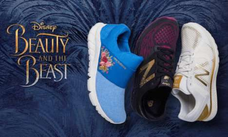 Athletic Fairy Tale Footwear - New Balance Created Beauty and the Beast Shoes for Women and Girls